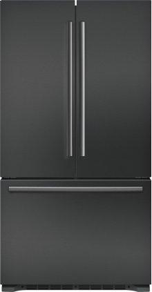 "800 Series 36"" Freestanding Counter-Depth French Door Refrigerator, B21CT80SNB, Black Stainless Steel"