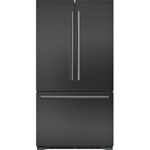 "Bosch800 Series 36"" Freestanding Counter-Depth French Door Refrigerator, B21CT80SNB, Black Stainless Steel"