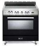 "Matte Black 36"" Electric Single Oven Range Product Image"