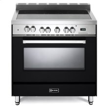 "Matte Black 36"" Electric Single Oven Range"