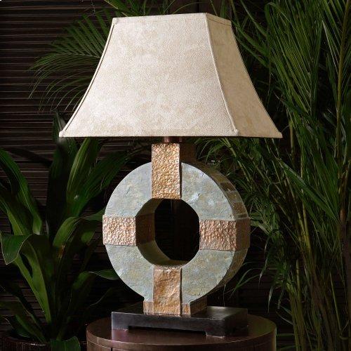 Slate Table Lamp