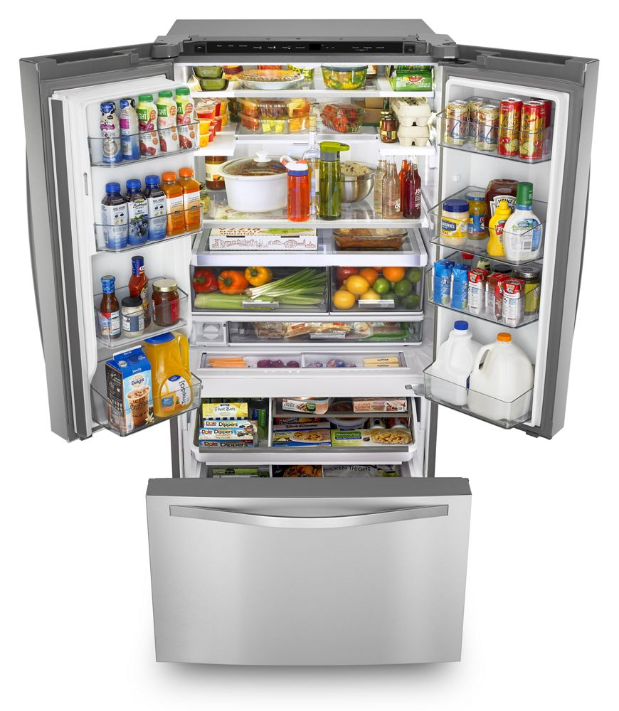 Additional 36 Inch Wide French Door Refrigerator With Infinity Slide Shelf    32 Cu.