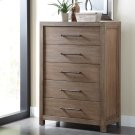 Mirabelle - Five Drawer Chest - Ecru Finish Product Image