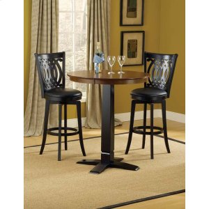 Hillsdale FurnitureDynamic Designs 3pc Pub Set W/ Van Draus Stools