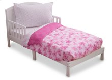 Floral and Polka Dot 4-Piece Toddler Bedding Set - Kid bundle - Floral and Polka Dot (2000)