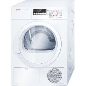 "Bosch24"" Compact Condensation Dryer Ascenta - White WTB86200UC"