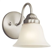 Wynberg 1 Light Wall Sconce Brushed Nickel