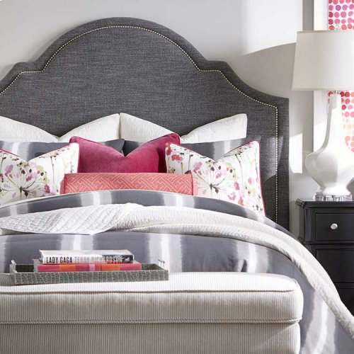Custom Uph Beds Manhattan Rectangular Queen Headboard