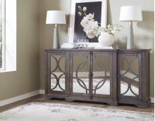 "79"" Taupe Console"