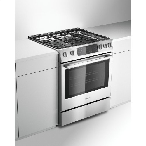 Benchmark Series, All-Gas Slide-In Range