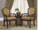 2 Bergere Chairs with Small Round Table Product Image