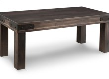 """Chattanooga 48"""" Leg Bench with Wood Seat"""