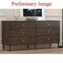Mid Century Dresser - KD Ctn 1/2