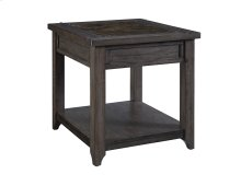 Irving Faux Stone / Wood Occasional - End Table