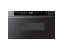"""Modernist 24"""" Microwave-In-A-Drawer, Graphite"""