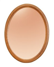 Oval Mirror, Wall Hung