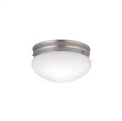 Ceiling Space Collection Ceiling Space 2 Light Flush Mount Ceiling Light NI