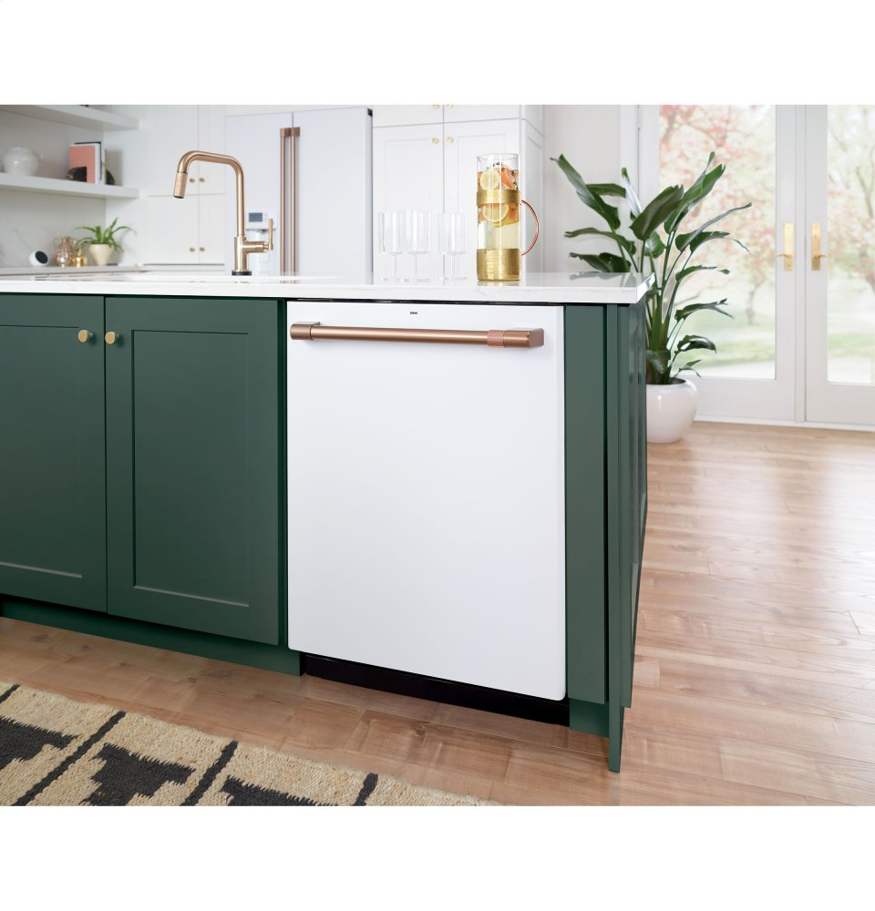 Cdt866p4mw2 Ge Stainless Interior Built In Dishwasher With