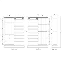 Sonoma Kitchen Cabinet