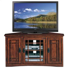 "Mission Corner 46"" TV Stand w/ Storage #82385"
