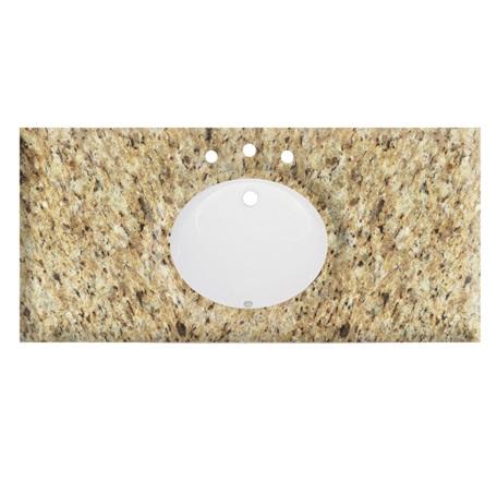 """49"""" Giallo Ornamental (GO) - Granite Top"""