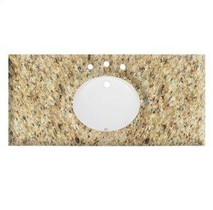 """49"""" Giallo Ornamental (GO) - Granite Top Product Image"""