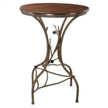 Pine Iron Bar Table