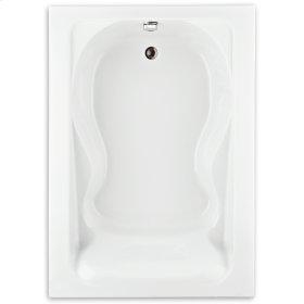 Cadet 60x42 inch Bathtub - White