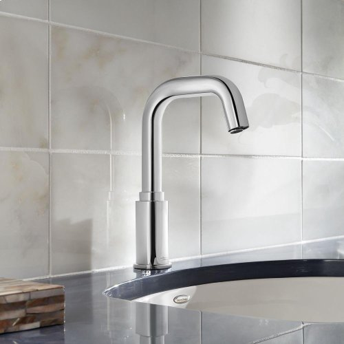 Serin Deck-Mount Sensor-Operated Faucet - Polished Chrome