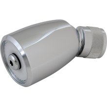 2.5 GPM Max. Flow Rate @ 80 PSI Shower Head with Ball Joint, 2.5 GPM Max. Flow Rate @ 80 PSI