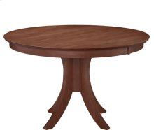 "Siena 48"" Pedestal Table w/ 30"" Base Espresso"