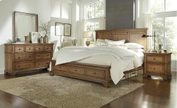 Queen Panel Bed HB Product Image