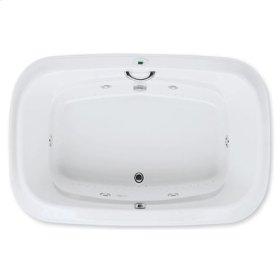 "Easy-Clean High Gloss Acrylic Surface, Oval, Whirlpool Bathtub, Signature Package, 48"" X 72"""