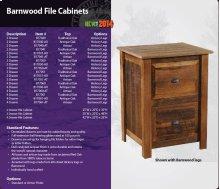 Barnwood File Cabinets