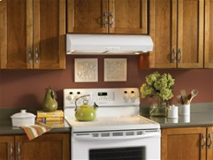 "Broan 300 CFM 30"" wide Undercabinet Range Hood in White"