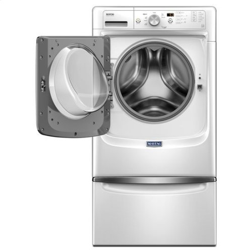 """Maytag® Front Load Washer with Steam for Stains Option and PowerWash® System """" 4.3 cu. ft. - White"""