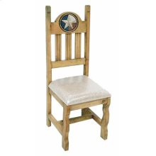 Padded Lone Star Marble Chair