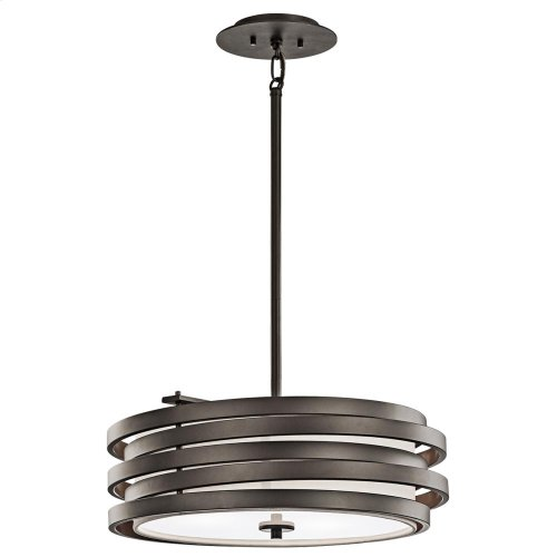 Roswell Collection 3 Light Pendant  Olde Bronze