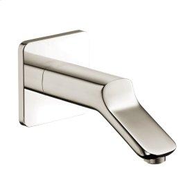 Polished Nickel Bath spout
