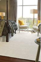 Dramatic Static Cyber White Braided Rugs Product Image