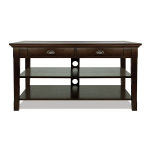 Bell'oDeep Espresso Finished Wood Audio/Video Table