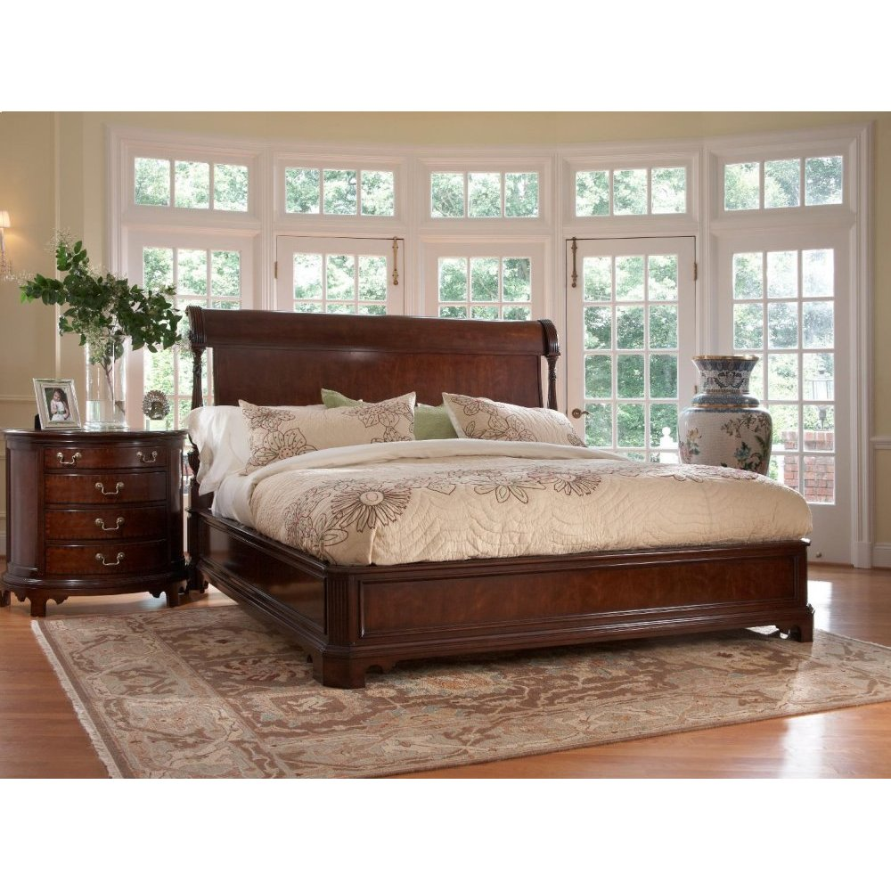Charleston Platform Panel King Bed