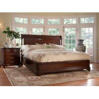 Charleston Platform Panel King Bed Product Image