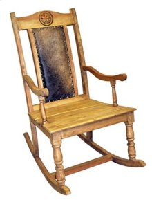Cowhide Star Rocker