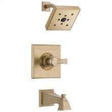 Champagne Bronze Monitor ® 14 Series H2Okinetic ® Tub & Shower Trim