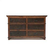 Glen Falls - 6 Drawer Dresser