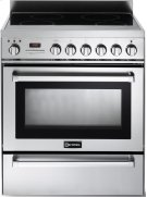 """Stainless Steel 30"""" Self-Cleaning INDUCTION Top Range Product Image"""