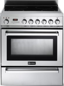 "Stainless Steel 30"" Self-Cleaning INDUCTION Top Range"