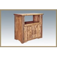 Homestead Utility Cabinet - Stained and Lacquered
