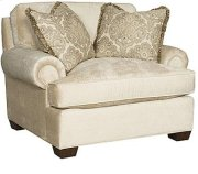 Henson Fabric Chair & 1/2 Product Image
